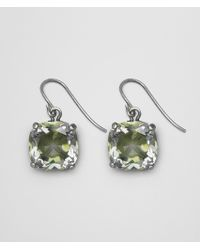 Bottega Veneta - Chamomile Cubic Zirconia/oxidized Silver Earrings - Lyst