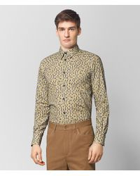 Bottega Veneta - Multicolor Cotton Shirt - Lyst