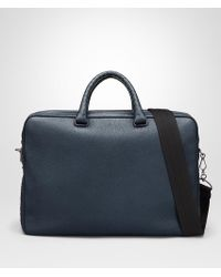 Bottega Veneta - Denim Cervo Briefcase - Lyst