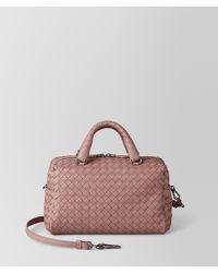 Bottega Veneta - Mini Top-handle Bag In Intrecciato Nappa - Lyst