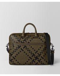Bottega Veneta - Briefcase In Intrecciato Nappa - Lyst