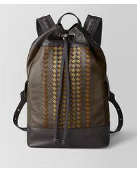 Bottega Veneta - Backpack In Bv Club 19 - Lyst