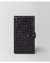 Bottega Veneta - Nero Ayers/intrecciato Nappa High-tech Case - Lyst