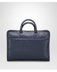 Bottega Veneta - Prusse Intrecciato Calf Briefcase - Lyst