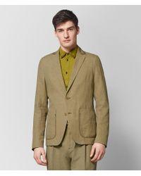 Bottega Veneta - Light Chamomile Cotton Jacket - Lyst