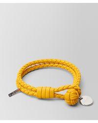 Bottega Veneta - Sunset Intrecciato Nappa Bracelet - Lyst