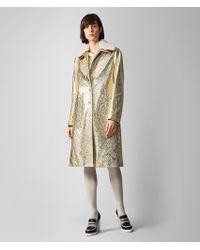 6013028c7c49 Bottega Veneta - Jacket In Calf Leather And Shearling - Lyst