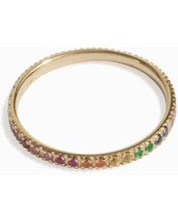 Sydney Evan - Rainbow Eternity Band - Lyst