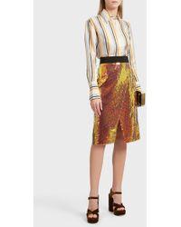 Victoria, Victoria Beckham | Sequin Skirt | Lyst