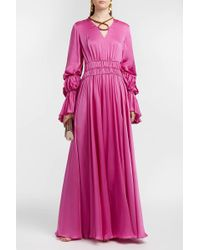 Roksanda | Ansari Silk-satin Dress | Lyst