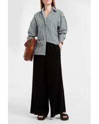 Khaite - Maria Striped Cotton-poplin Shirt - Lyst