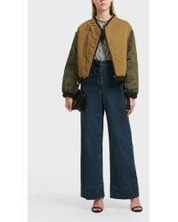 Étoile Isabel Marant - Hanae Quilted Shell Jacket, Fr36 - Lyst