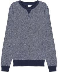 Sunspel | Reverse Loopback Sweatshirt | Lyst