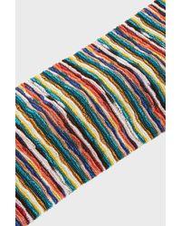 Missoni - Striped Crochet-knit Headband - Lyst