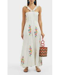 All Things Mochi - Louisa Striped Jumpsuit - Lyst