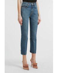 Proenza Schouler - Cropped Slim-leg Jeans - Lyst