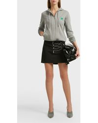 Courreges - Logo Hoodie - Lyst