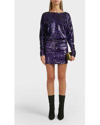 Alexandre Vauthier - Sequin Mini Skirt - Lyst
