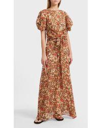 Isabel Marant   Ferone Printed Silk-blend Maxi Skirt   Lyst