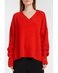By. Bonnie Young - Oversized Ribbed-knit Jumper - Lyst