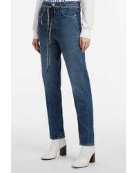 Proenza Schouler - Pswl Boyfriend Jeans, Size 25, Women, Blue - Lyst