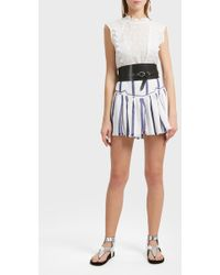 Isabel Marant - Nust Embroidered Ramie Top - Lyst
