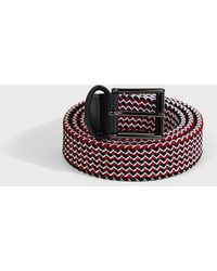 Andersons - Zigzag Woven Belt - Lyst