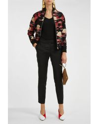 Paul & Joe - Jacquard Bomber Jacket - Lyst