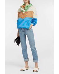 Étoile Isabel Marant - Cyriel Shell Raincoat, Size 0, Women, Blue - Lyst