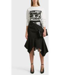 CALVIN KLEIN 205W39NYC - X Andy Warhol Foundation Printed Cotton Sweatshirt - Lyst