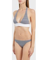 Heidi Klein - Cote Sauvage Hipster Bikini Bottoms, Size L, Women, Blue - Lyst
