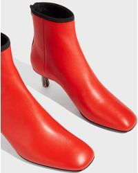 CALVIN KLEIN 205W39NYC - Leather Ankle Boots - Lyst