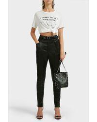 R13 - Punk Rock Cotton-blend T-shirt - Lyst