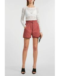Isabel Marant - Esy Quilted Shorts - Lyst