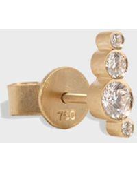 Sophie Bille Brahe - Flacon Earring, Size Os, Women, Y Gold - Lyst