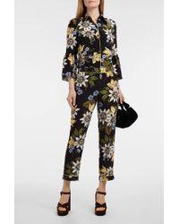 Erdem - Aran Floral-print Silk Crepe De Chine Shirt - Lyst