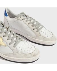Golden Goose Deluxe Brand - Ball Star Trainers, Size It35, Women, White - Lyst