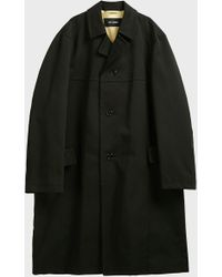 Raf Simons - Cotton Trench Coat - Lyst