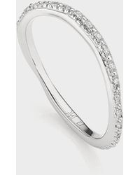 Monica Vinader - Riva Waterfall Cocktail Diamond Ring - Lyst