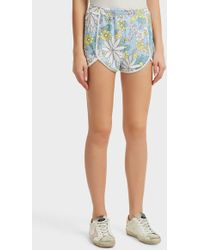 Wildfox - Printed Jersey Shorts, Size M, Women - Lyst