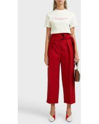 Ellery - Collector Vase Cotton T-shirt - Lyst