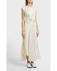 3.1 Phillip Lim - Twisted Henley Maxi Dress - Lyst