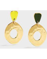 Sonia Boyajian - Place In The Sun Gold-tone Ceramic Earring - Lyst