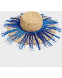 Forte Forte - Fringed Straw Hat - Lyst