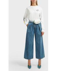 SJYP - Wide-leg Jeans - Lyst