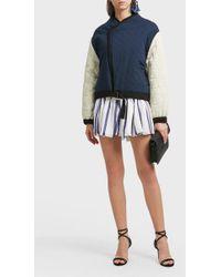Étoile Isabel Marant - Hanae Quilted Cotton Jacket, Fr36 - Lyst