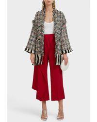 Missoni - Multi-fringe Wool-blend Coat, Size It40, Women - Lyst