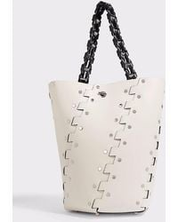 Proenza Schouler - Hex Studded Leather Bucket Bag - Lyst