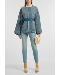 Elizabeth and James - Hayden Embroidered Cotton Jacket - Lyst