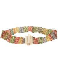 Carolina Bucci - 1 Cm Rainbow Bracelet - Lyst